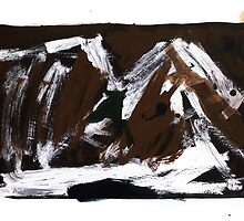 Study For An Icescape 10 by John Douglas