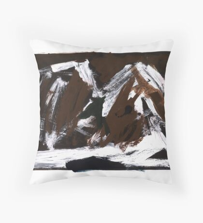 Study For An Icescape 10 Throw Pillow