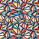 pattern of triangles by Tanor