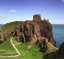 Dunnotar Castle by Kasia-D
