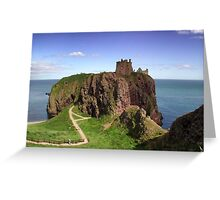 Dunnotar Castle Greeting Card