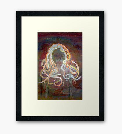 White Witch Framed Print