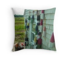 Fried Clams Throw Pillow