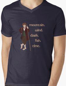 Bilbo's Answers Mens V-Neck T-Shirt