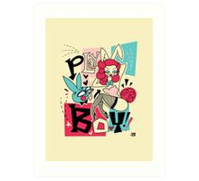 Bunny and Playboy! Art Print