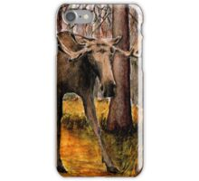 M is for Moose iPhone Case/Skin