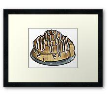 sweet dreams are made of this (mycroft cinnamon bun) Framed Print