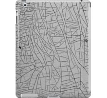 Grunge of Steel and Paint - Abstract Art iPad Case/Skin