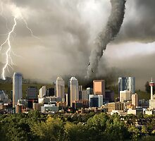 Natural Disaster Scene by Tracy Deptuck