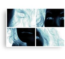 Pieces of Me Canvas Print