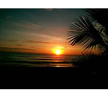 Jaco Sunset Photographic Print