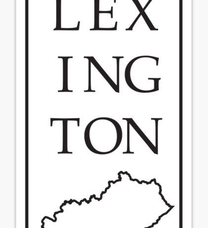 Lexington, Kentucky Sticker