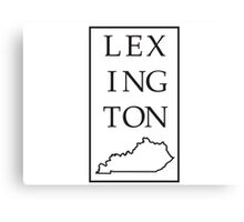 Lexington, Kentucky Canvas Print