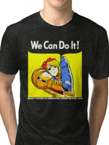 We can do it! Tri-blend T-Shirt