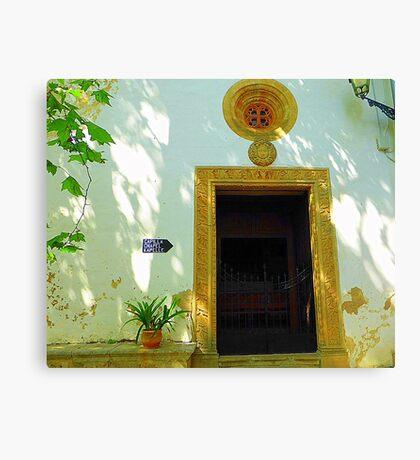 Private Chapel.......................................Majorca Canvas Print