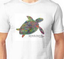 Goenka Ji Meditation Turtle Unisex T-Shirt