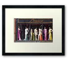 All Dressed Up and No Place to Go Framed Print