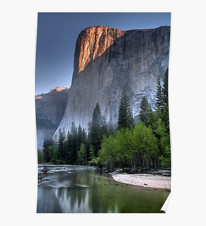 Sunrise on El Capitan Poster