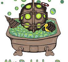 Mr. Bubbles by ZebraArmada