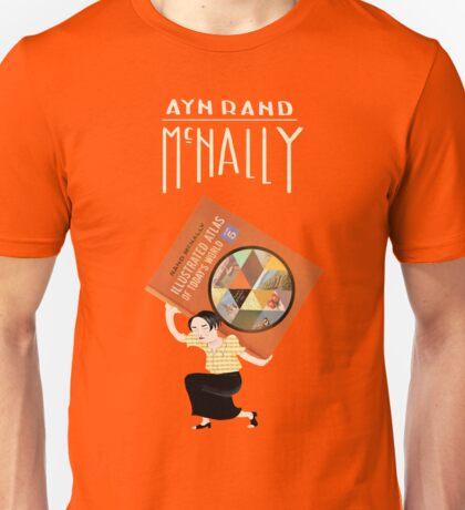 Ayn Rand McNally Unisex T-Shirt