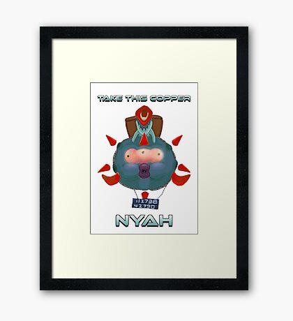 Vinnie & Spike Framed Print