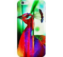 Fluorescent Paradise Bird iPhone Case/Skin