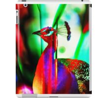Fluorescent Paradise Bird iPad Case/Skin
