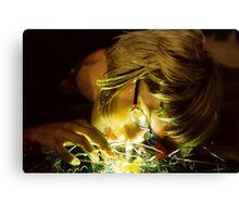 Twisted Light Canvas Print