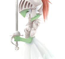 Gardevoir Warrior by Skull And Cubone Society