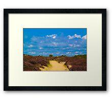 Life's a Beach - Sky View Framed Print