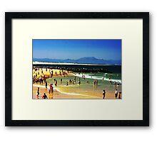 French summer Framed Print