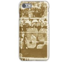 2015 SUPER BOWL, sepia photo, abstract art iPhone Case/Skin