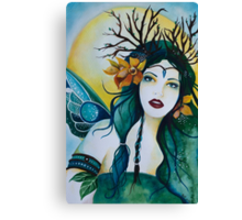 Spring Maiden faery Canvas Print