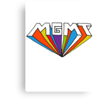 MGMT logo Canvas Print