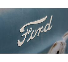 """Built Ford Tough"" Photographic Print"