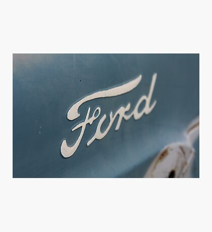 """Built Ford Tough"" Photographic Print"