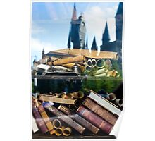 Reading at Hogsmeade Poster