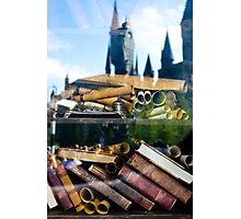 Reading at Hogsmeade Photographic Print