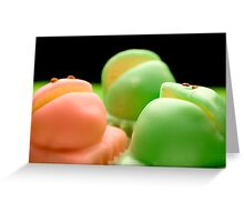 Balfour's Frog Cakes Greeting Card