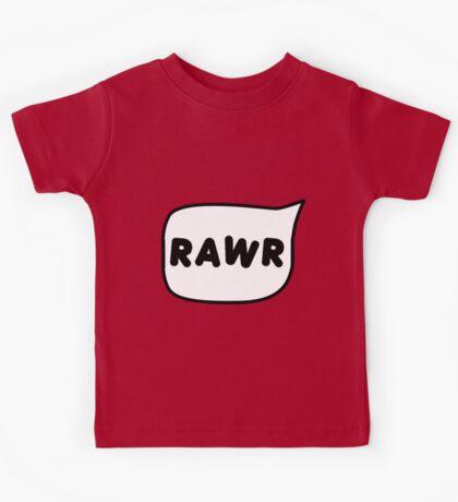 Rawr bubble Kids Tee