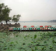 KuMing Lake, Summer Palace  by Laurie Puglia