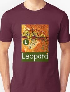 L is for Leopard T-Shirt