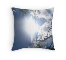 Australian Sun Throw Pillow