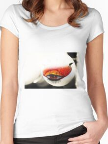 Loving Eye. Color. Love Project Women's Fitted Scoop T-Shirt
