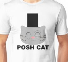 Posh Cat Unisex T-Shirt
