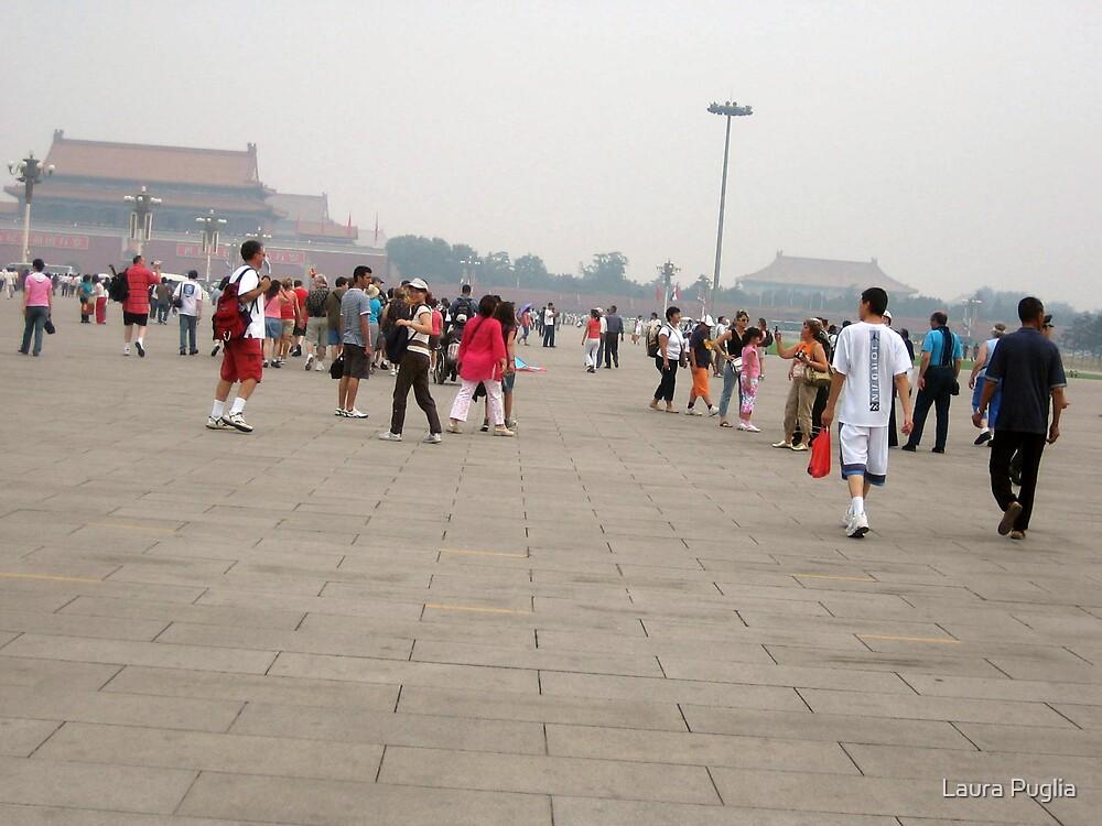 Tiananmen Square in Beijing by Laura Puglia