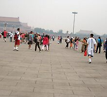 Tiananmen Square in Beijing by Laurie Puglia
