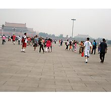 Tiananmen Square in Beijing Photographic Print