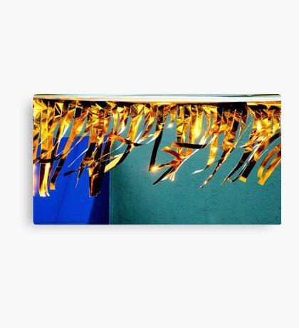 Golden Fingers Dancing The Wind Canvas Print
