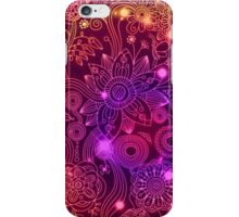 Pink abstract iPhone Case/Skin